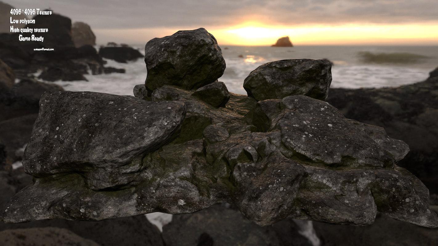 3D rock