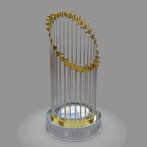 world series champion baseball 3D