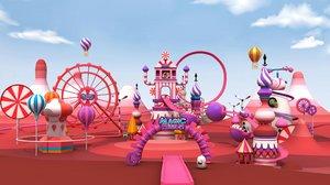 3D magic park