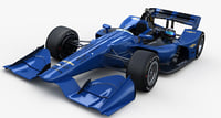 3D indycar chevrolet road course model