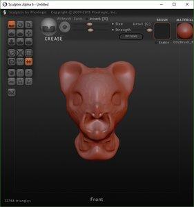 3D alien heads