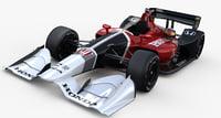 indycar honda road course 3D model