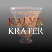 3D kalyx krater model