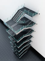 stairs 3D