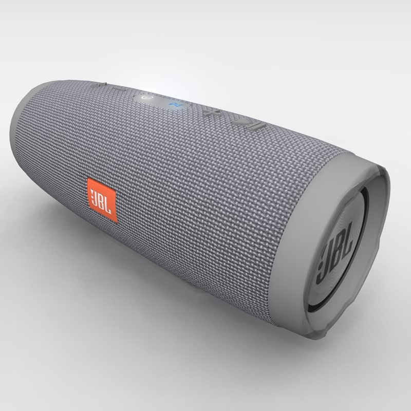 JBL Charge 3 Gray Bluetooth Portable Speaker