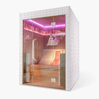 3D infrared cabine