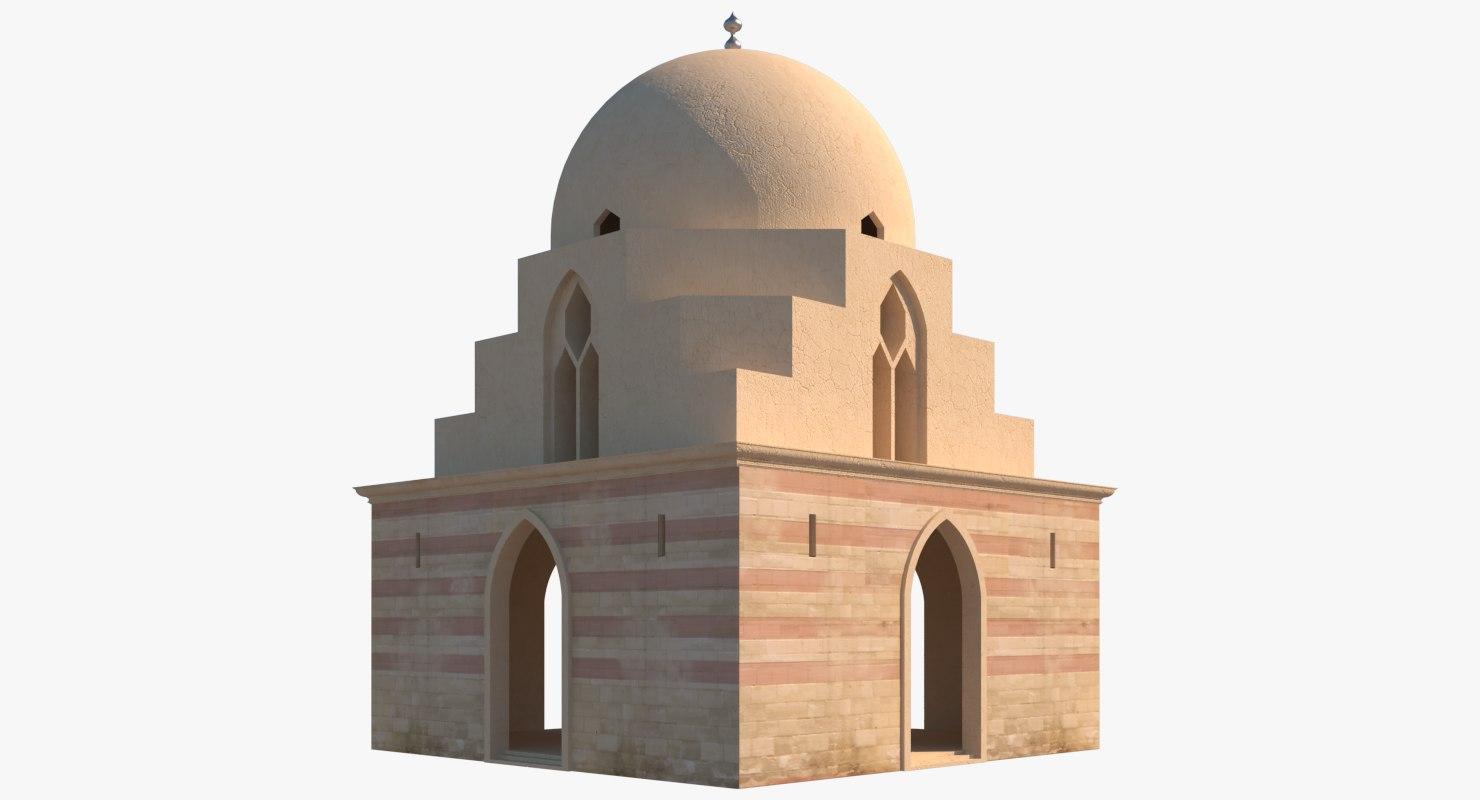 building islamic 3D model