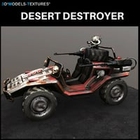 desert destroyer 3D model