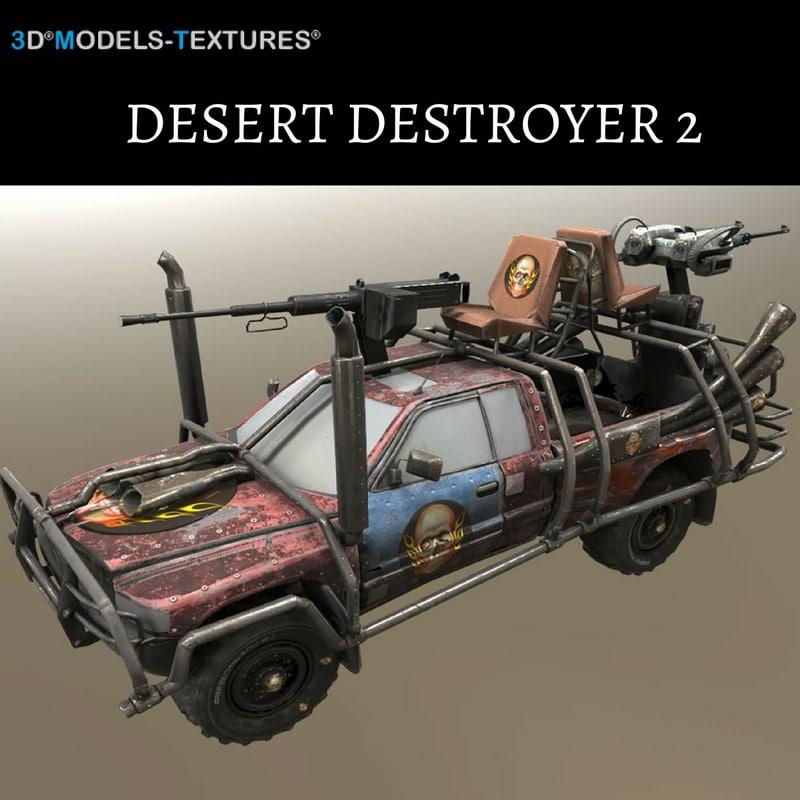 vehicle 2 3D model