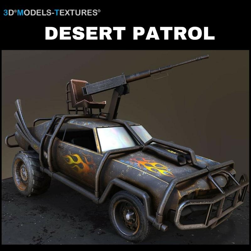 desert patrol model