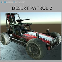 wheels guns 3D model