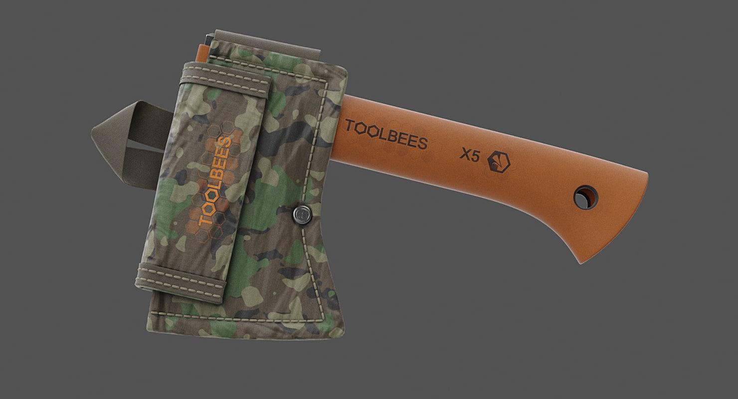 3D 3 axes sheaths model