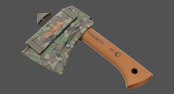 3D 3 axes sheaths model