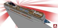 msc lirica cruise 3D