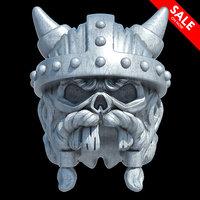 viking skull 3D