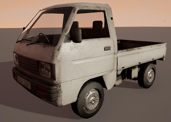 mini van 3D model