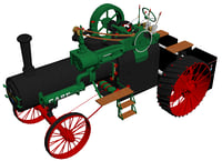 Case 1911 Traction Engine