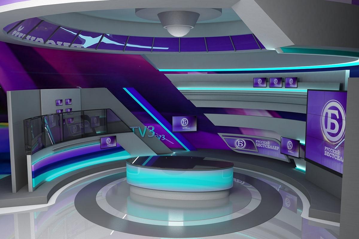 virtual studio 3D model