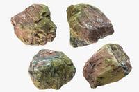 3D small rock