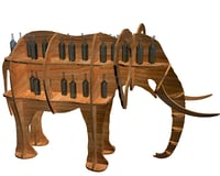 Shelf animal elephant