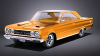 1967 plymouth gtx model