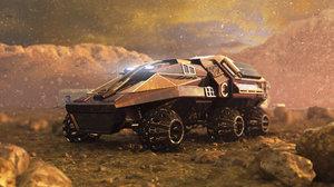 3D mars rover prototype