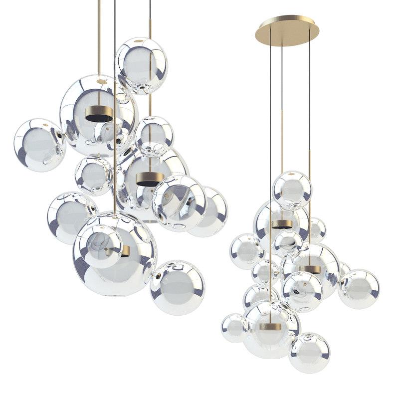 3D giopato coombes chandelier btc14c-pe1-bzbc model