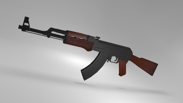 ak-47 assault rifle model
