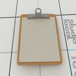 3D model clipboard alembic