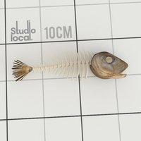 3D fish bones