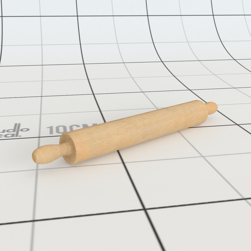3D rolling pin