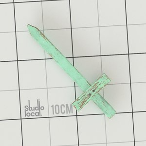 wooden sword 3D
