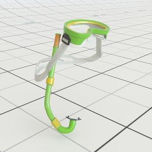 snorkel redshift pbr 3D