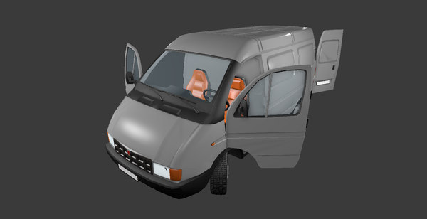 van gazel 3D model