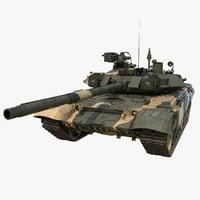 tank t-90a t 3D model