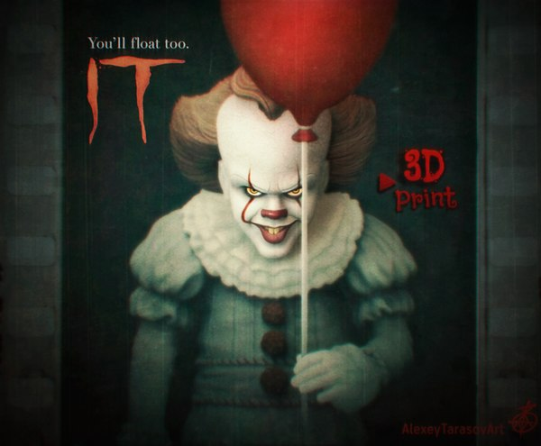 pennywise clown model