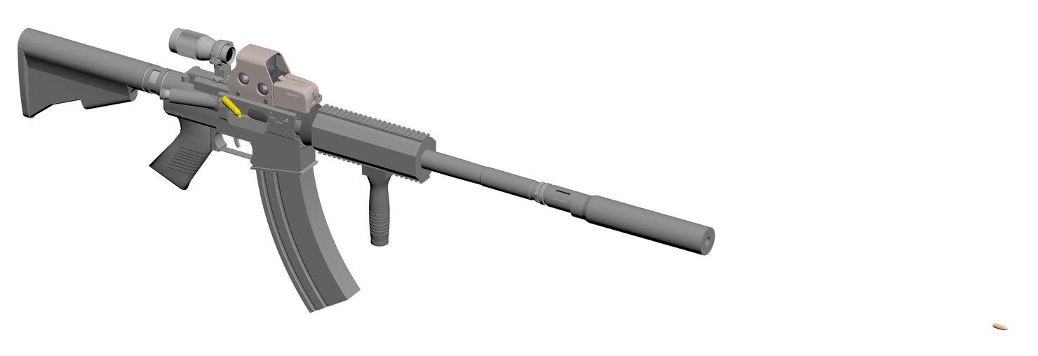 m4a1 3D