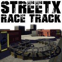 race track streetx 3D model