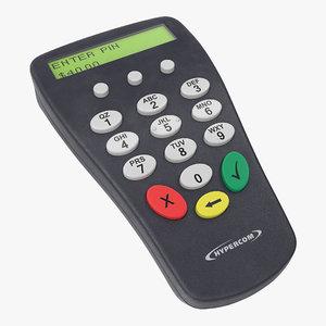 3D model pin pad