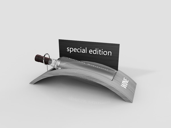 bottle stand 3D
