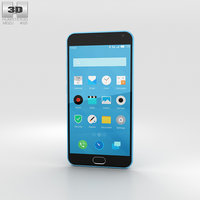 3D model meizu m2 note