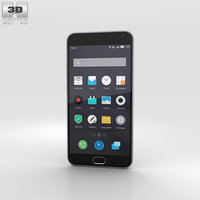 meizu m2 note 3D model