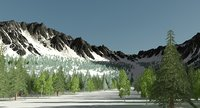 Snow Mountain With Itoo Forest pack