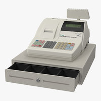 3D electronic cash register