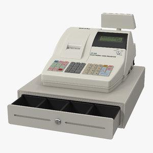 3D electronic cash register