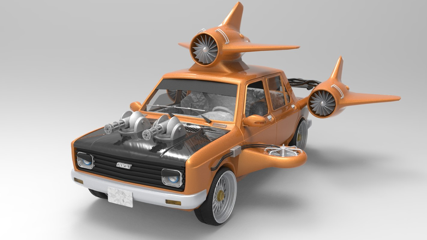 fiat 128 turbo model