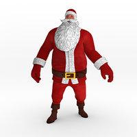 Santa Claus Rigged Character