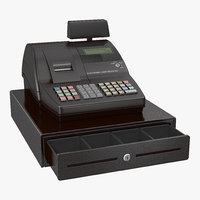 Cash Register Generic 3D Model