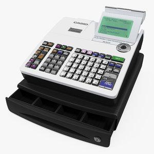 cash register casio 3D