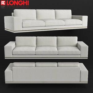 longhi sofa 3D model